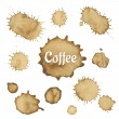 Coffee Stain Collection — Stock Vector #44956799