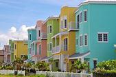 Colorful Beach Condominiums — Stock Photo