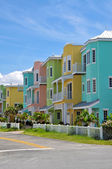 Colorful Beach Condominiums — Stock Photo