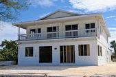Casa de playa dañadas huracán — Foto de Stock