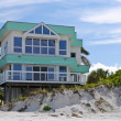 Stock Photo: Luxurious Beach House