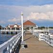 Bradenton Beach Historic Pier — Stock Photo