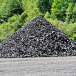 Stockpile of Coal - Stock Photo