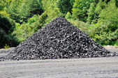Stockpile of Coal — Stock Photo