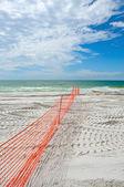 Beach Restoration — Stock Photo