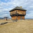 Stock Photo: Wilderness Blockhouse