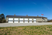New Fire Station — Stock Photo