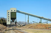 Quarry Loading Facility — Stock Photo