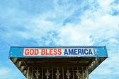God Bless America — Stock Photo