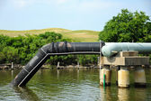 Waste Water Outfall — Stock Photo