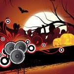 Halloween flyer — Stock Vector #9451326