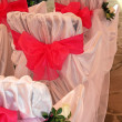 Bride and Groom Ceremonial Altar — Foto de Stock