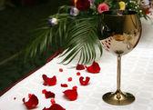 Luogo di nozze al ristorante — Foto Stock