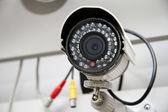 день & ночь цвет ip-камеры наблюдения — Стоковое фото