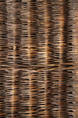 Rattan background, texture with copy space. — Stock Photo