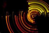Defocused fairy lights — Stock Photo