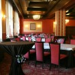 Stock Photo: Banquet hall at restaurant-club