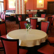 Banquet hall at restaurant-club — Stock Photo