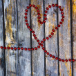 Valentines Day background with hearts. — Stock fotografie