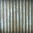 A rusty corrugated iron metal texture. — Stock Photo #46029875