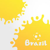 Milk background Brazil — Stockvektor