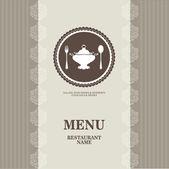 Menu for restaurant, cafe, bar — Stock Vector