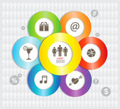 Modern Infographics elements. — Stock Vector