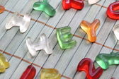 Sweet letters hey — Stock Photo