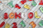 Sweet letters school — Stock Photo