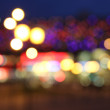 City bokeh background — Stock Photo