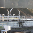 Modern sewage plant - Stock Photo