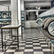 Stock Photo: Launderette as hdr picture