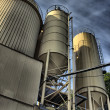 Stock Photo: Factory hdr close up