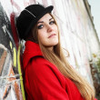 Urban Teenager Beautiful Girl - Lizenzfreies Foto