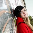 Urban Teenager Young Woman Romantic - Lizenzfreies Foto