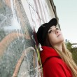 Urban Teenager Romantic Beautiful Girl - Lizenzfreies Foto