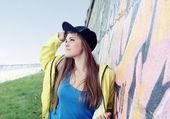 Urban Teenager Girl Young Romantic Woman — Stock Photo