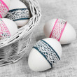 Decorated Easter Eggs - Stock Photo
