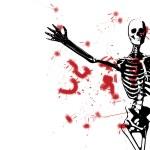 Bloody Skeleton — Stock Photo #12197887