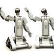 Droids Of The Future - Stock Photo