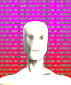 Binary Artificial Intelligence — Stock Photo