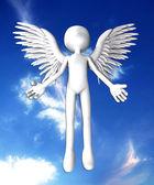 Blank Angel — Stock Photo