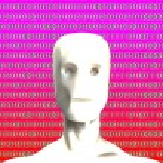 Binary Artificial Intelligence — Stock Photo #17668617