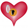 Unlock My Heart — Stock Photo