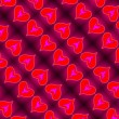 Angel Heart Pattern — Stock Photo