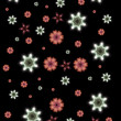 Firework Snowflakes — Stock Photo