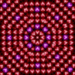 Pink And Red Heart Pattern — Stock Photo