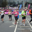 Runners At London Marathon 22th April 2012 — Stock Photo