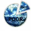 The Rich Poor Divide — Stock Photo