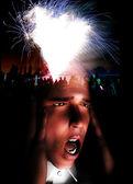 Exploderende geest — Stockfoto